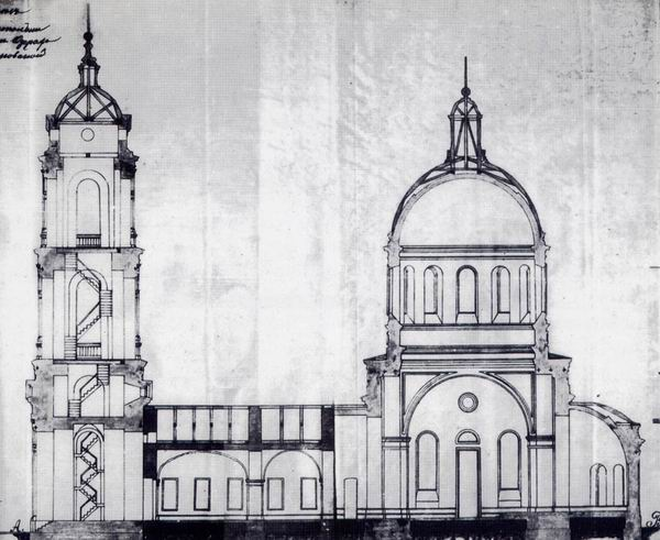 05 Проект перестройки Введенского (ныне - Троицкого) храма. IX век.