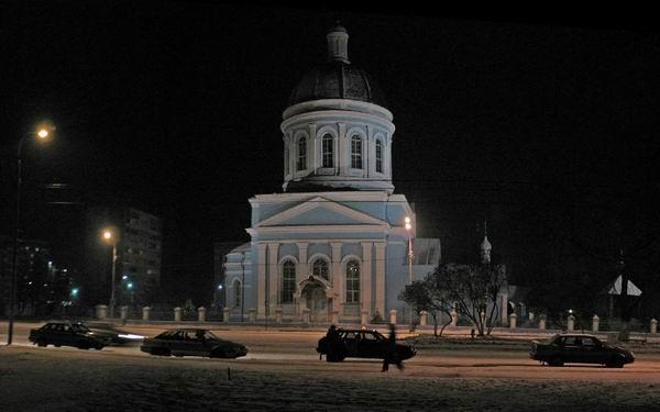 10 Храм ночью