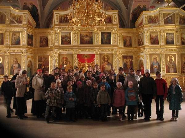 14 Паломническая поездка в Николо-Пешношский монастырь (октябрь 2011 года)