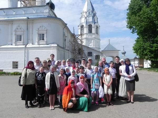 17 Паломническая поездка в Переславль-Залесский (20 мая 2012 года)